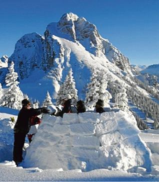 Ohmamiglú: los iglús del pirineo.