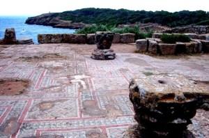 Tipasa , ruinas romanas en la costa africana - Mosaicos-300x198