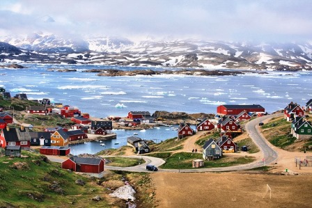 Tasiilaq (Groenlandia).