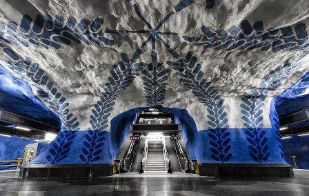 El metro de Estocolmo
