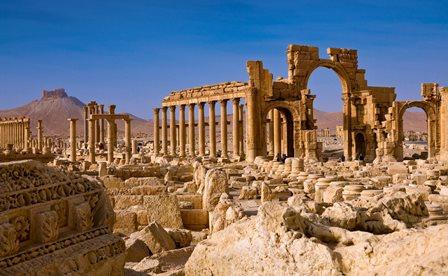 Palmira, el oasis de piedra del desierto sirio