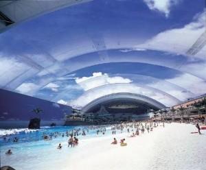 Ocean Dome, la playa artificial más grande del mundo - Cúpula-300x248