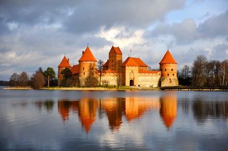El castillo rojo de Trakai