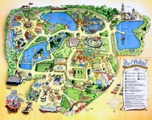 Efteling, el parque de la fantasía - Mapa-Efteling-300x237