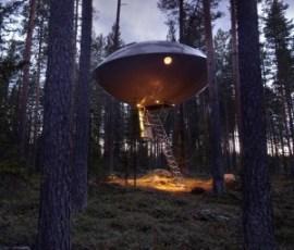 Hoteles OVNI. - UFO-Hotel-Suecia-300x256