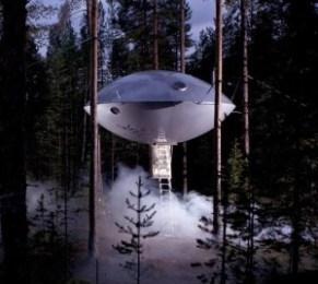 Hoteles OVNI. - UFO-treehotels-300x269