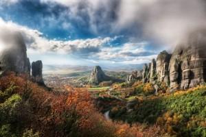 Los monasterios de Meteora (Grecia) - Meteora-valle-300x200