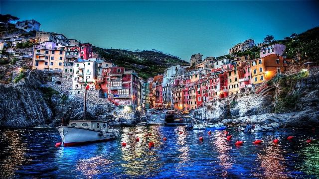 Las Cinco Tierras del Liguria