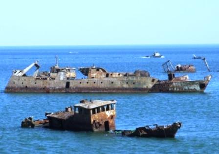 El cementerio de barcos de Nouadhibou