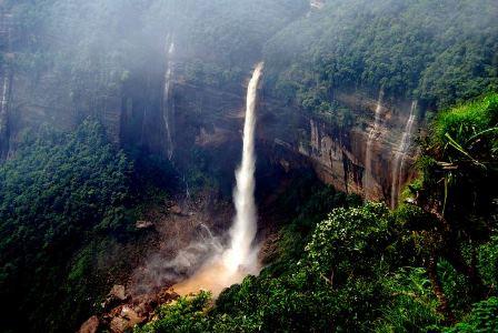 Cherrapunji: el lugar más lluvioso del mundo.