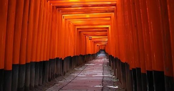 El santuario Fushimi Inari-Taisha