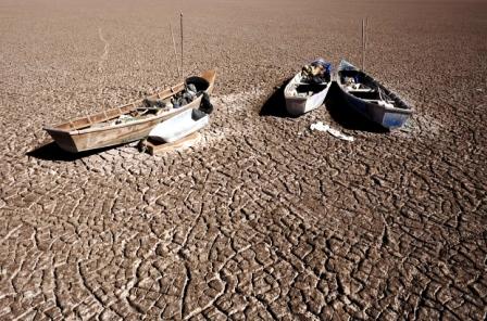 Poopó, el lago desaparecido