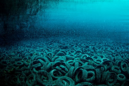 Arrecife Osborne: ecología basura