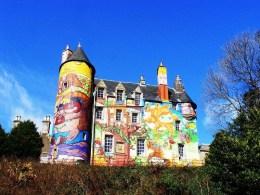 Kelburn: el castillo de los grafitis - kelburn-castle-26-300x225