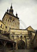 Sighisoara, la ciudad de Drácula - clock-tower-sighisoara-romania-12578938-214x300