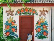 Zalipie, el pueblo de las flores - zalipie-village-child-564x435-300x231