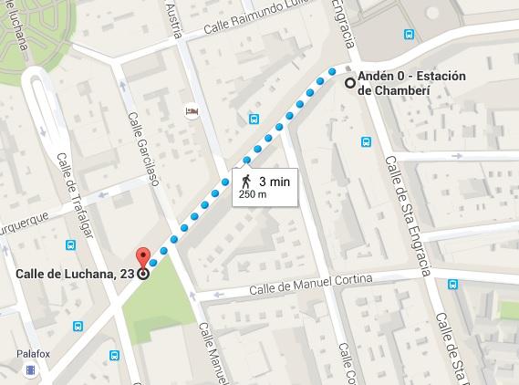 """Nave de Motores - Ubicación de la """"Central Norte"""", muy cercana a la Estación """"fantasma"""" de Chamberí (1)"""