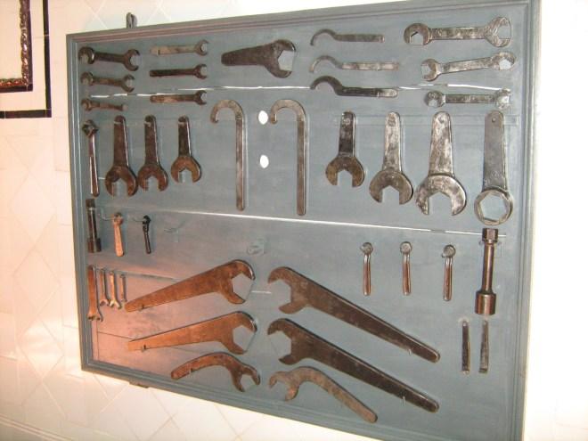 Nave de Motores - Panel de herramientas