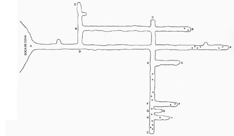 Mina de Petróleo de Riutort - Galerías de la mina de Riutort (4)