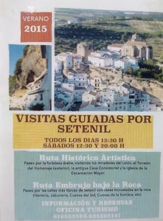 Setenil de las Bodegas - Visitas guiadas por Setenil.