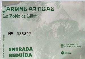 Los Jardines Artigas - Entrada reducida a los Jardines Artigas
