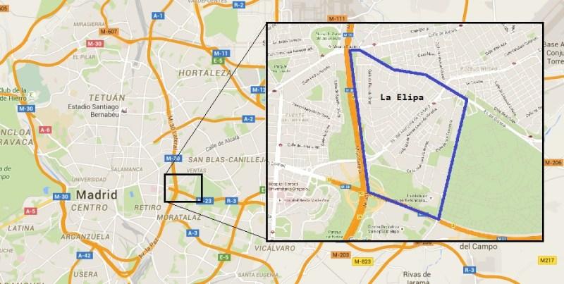 Situación de La Elipa (1)