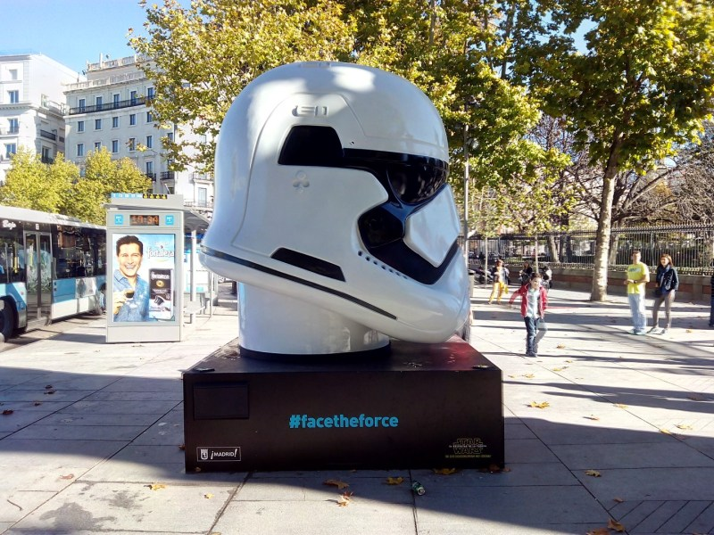 Face the Force - Stormtrooper de la Primera Orden