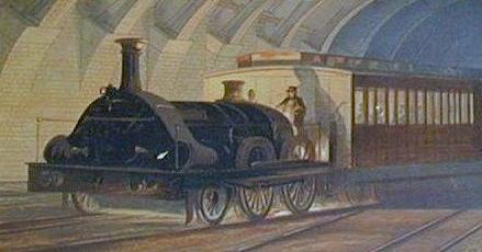 Estación Fantasma de Chamberí - Primer metro del mundo en Londres (6)