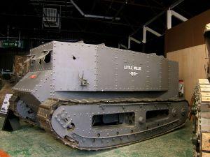 Museo de Carros de Combate - Little Willie - Museo de Tanques de Bovington (7)
