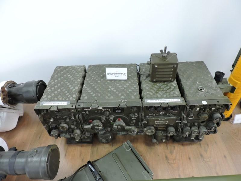 Museo de Carros de Combate - Transmisor del M-47 y M-48
