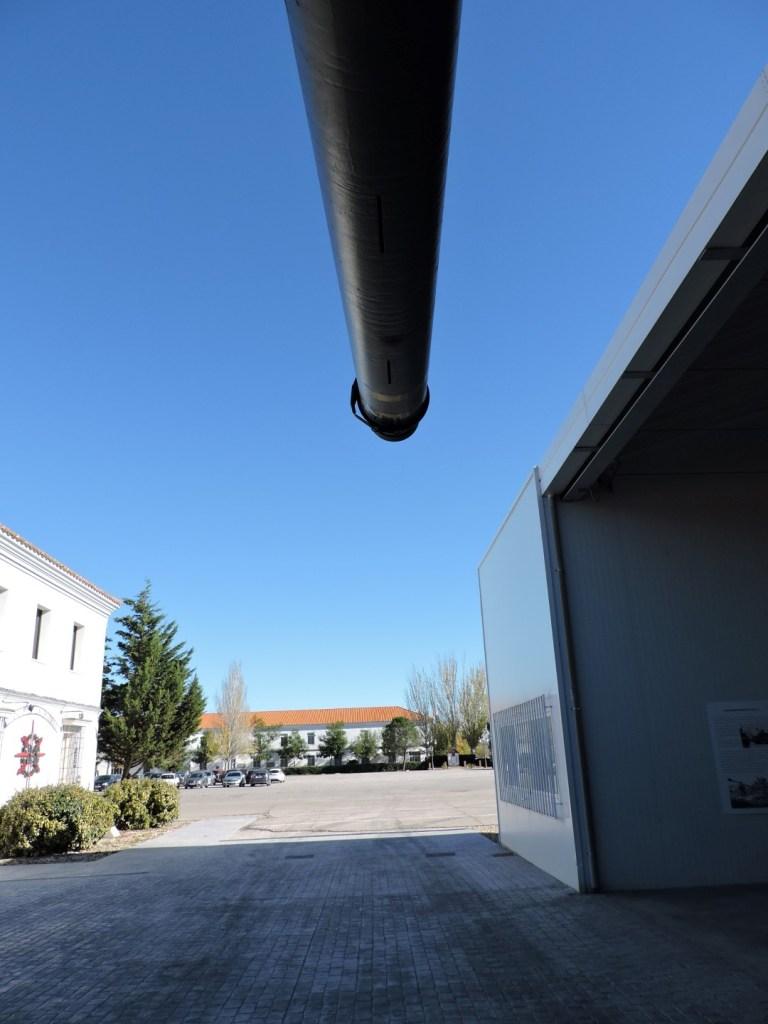 Museo de Carros de Combate - La base vista desde el cañón del M-60