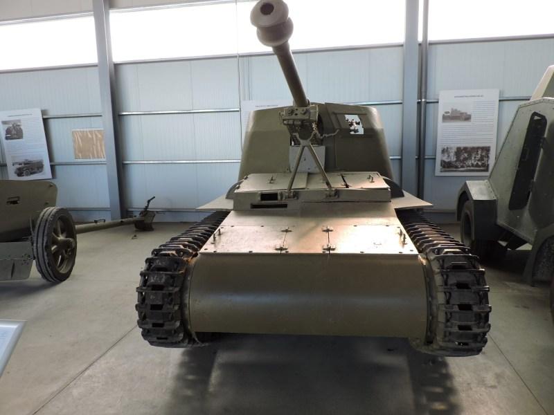 Museo de Carros de Combate - Cañón autopropulsado Verdeja