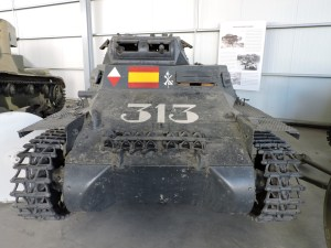 Museo de Carros de Combate - Panzer I B - delantera
