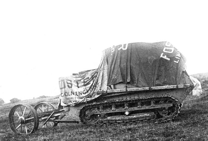 Museo de Carros de Combate - Máquina Lincoln nº 1 (6)