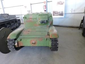Museo de Carros de Combate - Fiat Ansaldo, el mini de los tanques