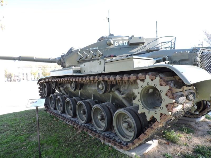 Museo de Carros de Combate - Carro de combate M-60 A3 TTS