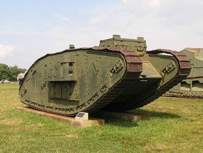 """Museo de Carros de Combate - Mark I """"hembra"""" (11)"""