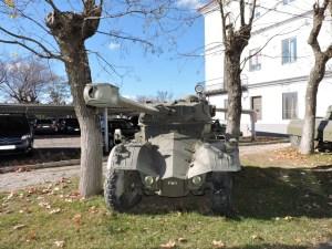 Museo de Carros de Combate - Panhard AML-90