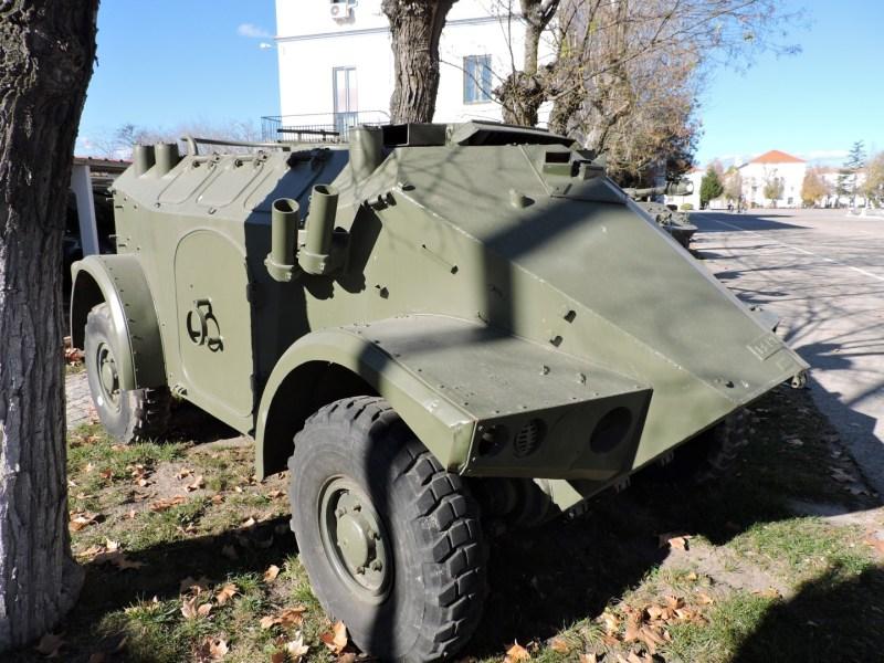 Museo de Carros de Combate - Panhard M-3 VTT