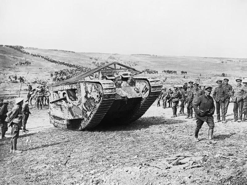 Museo de Carros de Combate - Mark I en la Batalla de Flers–Courcelette (9)