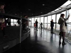 Faro de Moncloa - Vista interior del mirador