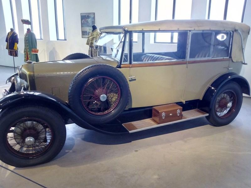 Museo Automovilístico - Ballot (Francia - 1918)