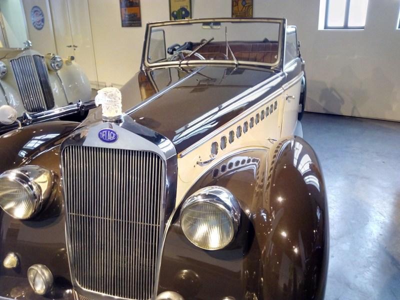 Museo Automovilístico - Delage (Francia - 1938)