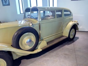"""Museo Automovilístico - Fue """"tuneado"""" por encargo del millonario Astor."""