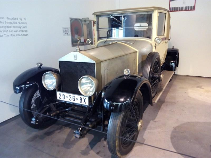 Museo Automovilístico - Rolls-Royce Silver Ghost (Reino Unido - 1923)