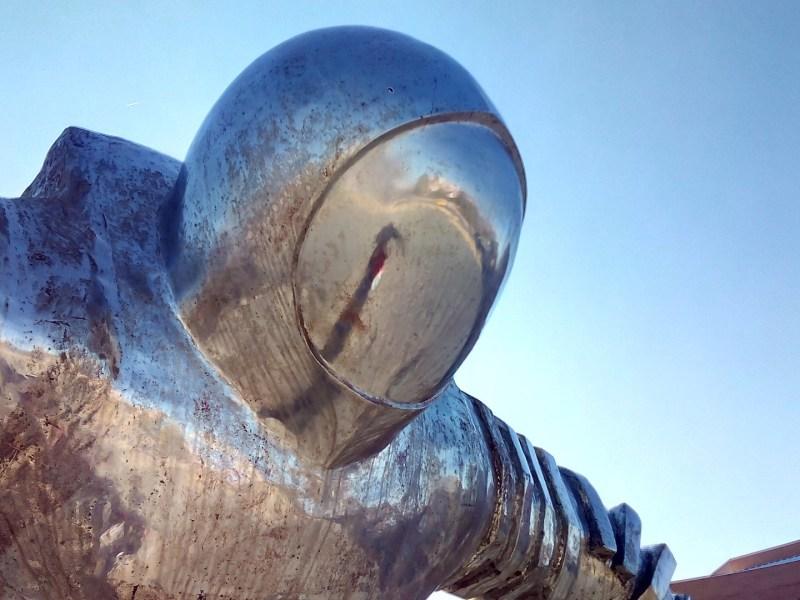 El Astronauta de Valdemoro - Casco de El Astronauta