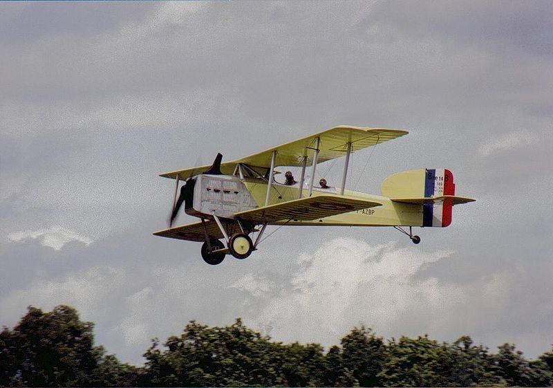 Museo de la Aviación - Breguet XIV, como el usado en la primera ruta aérea en España (6)