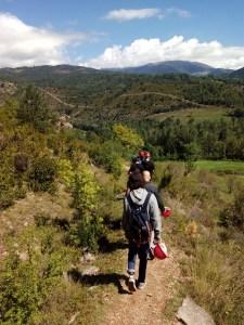Parque de los búnkeres - Camino hacia la Roca de la Miel