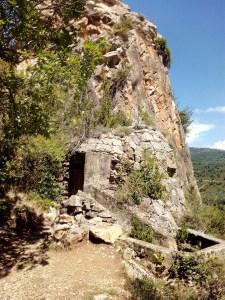 Parque de los búnkeres - Entrada a la Roca de la Miel