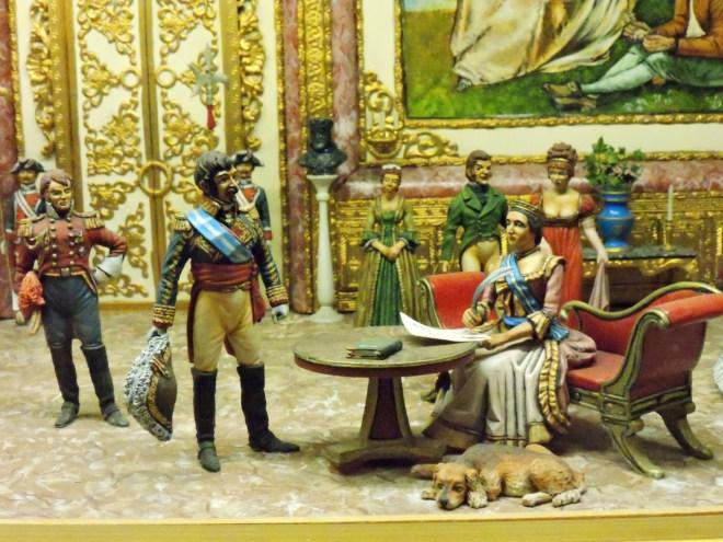 Museo de la Guardia Civil - El 13 de mayo de 1844, la Reina Isabel II firma ante Narváez el Real Decreto por el que se crea la Guardia Civil. (Imagen propiedad del Museo de la Guardia Civil)